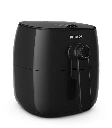 Philips Airfryer HD9621/90 - Freidora sin Aceite, Tecnología TurboStar, 1425 W, 0,8 kg, Diseño Compacto, Negro