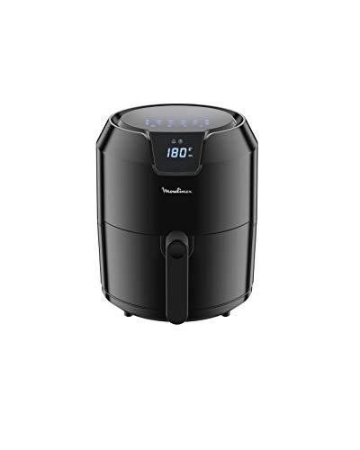 Moulinex EZ4018 Easy Fry Deluxe Freidora de aire sin aceite, 8 modos preestablecidos, capacidad XL hasta 6 personas, 80 °C a 200 °C