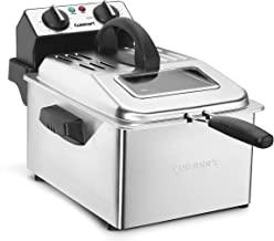 Cuisinart CDF-200P1 Deep Fryer, 4 Quart, Stainless Steel